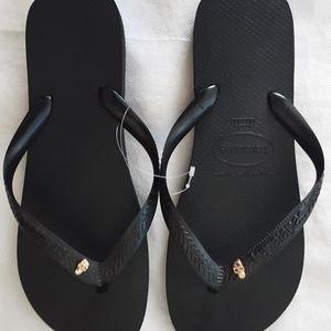 Havaianas Black Gold Women's - 2 Sizes